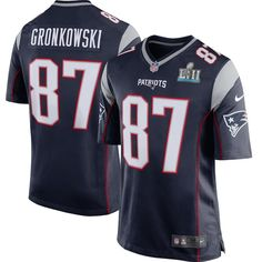 Details about GRONKOWSKI New England Patriots NIKE Game SUPER BOWL JERSEY  Youth Large NWT  80. FootballSuperbowl MvpNfl ... 6aa920861