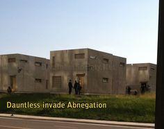 Dauntless extras invade the Abnegation set on Divergent ~Divergent~ ~Insurgent~ ~Allegiant~