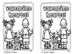 Valentine Reader! - Little Miss Kindergarten - TeachersPayTeachers.com