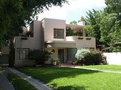 San Antonio TX 1940's Art Moderne House   Flickr - Photo Sharing!