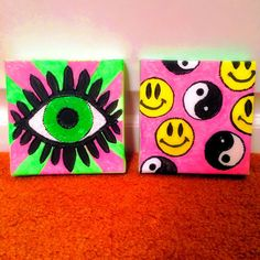 90's Vibe Set of 2 by MadCatArtwork on Etsy