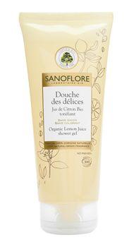 Doccia delle Delizie Succo di Limone Bio Tonificante - Trattamenti Corpo - Cosmetica Bio - Sanoflore