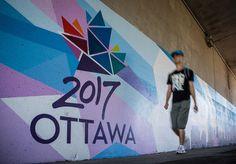 Ottawa 2017 boss finding free places to put logo