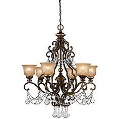 Traditional Bronze Umber 6-light Chandelier | Overstock.com Shopping - The Best Deals on Chandeliers & Pendants
