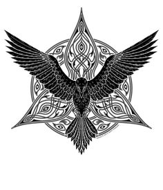 tribal raven tattoo - Google 検索