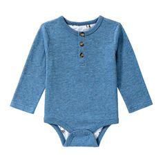 Baby Boys' Button Bodysuit