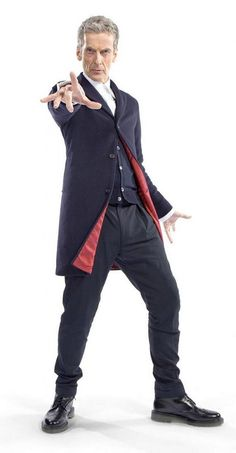 Doctor Who: first official picture of Peter Capaldi costume