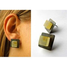 Free Shipping matt amber earrings by balticamberstone on Etsy