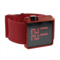 YKS New Wrist Watch for Men and Women (Red) by YKS. $11.99