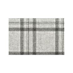 Wool check fabric in light grey, charcoal and white. Suitable for severe domestic and contract use. From Moon, Chalet Collection. Check Fabric, Aspen, Living Spaces, Wool