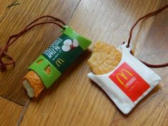 My mcdonalds ornaments