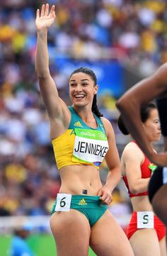 Michelle Jenneke will no longer train with her coach of after the hurdler bombed out at Rio and was cut from receiving Athletics Australia financial support. Michelle Jenneke, Foto Blog, Beautiful Athletes, Stunning Girls, Female Hero, Sports Stars, Gym Girls, Track And Field, Athletic Women