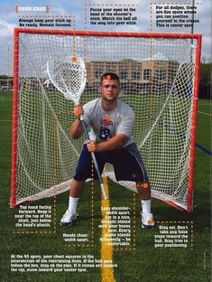 A strong lax goalie stance is the foundation for all other areas. In this post we share how you can build a strong stance. Goalie Quotes, Lacrosse Quotes, Lacrosse Gear, Girls Lacrosse, Hockey, Softball Problems, Lacrosse Sticks, Kids Sports, Sports