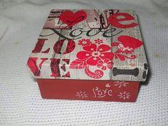 Caja, Box Decoupage