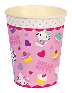 Hello Kitty Party Cups by Beau-coup Hello Kitty Photos, Hello Kitty Themes, 1st Birthday Parties, It's Your Birthday, Birthday Ideas, Diy Party Supplies, Hello Kitty Birthday, Cat Party, Party Cups