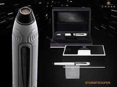 Cross Townsend® Star Wars® Stormtrooper Beyaz/Siyah PVD/Titanyum Roller Kalem