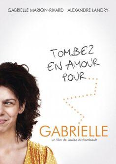 Affiche du film Gabrielle tres beau et émouvant