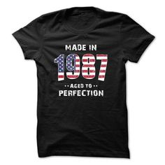 Made In 1987 Perfection T-Shirts, Hoodies, Sweatshirts, Tee Shirts (19.99$ ==► Shopping Now!)