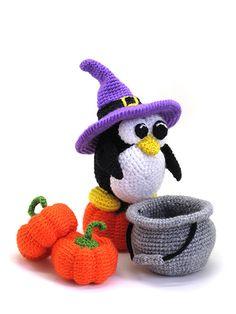 Buy Halloween penguin amigurumi pattern - AmigurumiPatterns.net