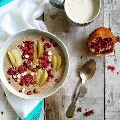 Super easy Happy Apple Chia Porridge