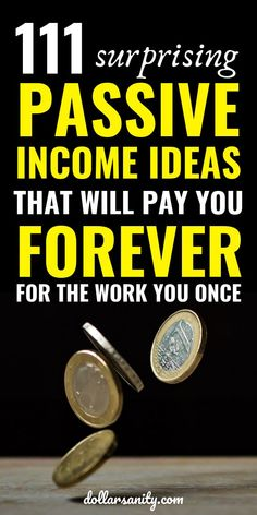 Passive Income Ideas - We all need some extra money. Here are ideas how to make money on the side. Ways To Earn Money, Earn Money From Home, Earn Money Online, Make Money Blogging, Money Tips, Money Saving Tips, Way To Make Money, Money Fast, How To Make