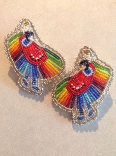 Mini Fancy Dancer Earrings