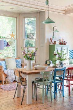 Kitchen chair colours