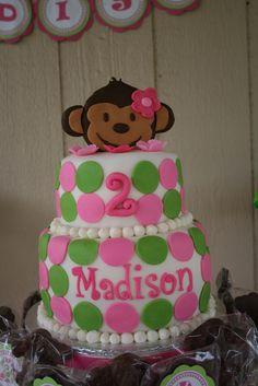 "Photo 8 of 14: Mod Monkey / Birthday ""2nd Birthday party""   Catch My Party"