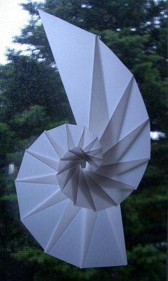 Fensterbild transparent Schnecke - Spirale - Nautilus   ANLEITUNG für eine super tolle Fensterdeko   Basteln Sie tolle, edle Deko-Objekte !!  Auch mit Kindern machbar.  Als Geschenk oder...