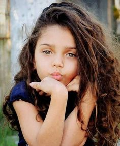 Beautiful little girl! I hope my daughter would look like this someday...