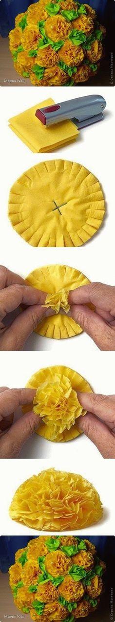 Easy Flower Ball