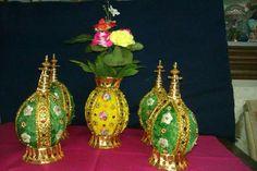 Coconut Decoration, Dry Coconut, Wedding Plates, Trays, Wedding Ideas, Decorations, Fruit, Wedding Plaques, Dekoration