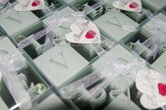LOVE coaster wedding favors