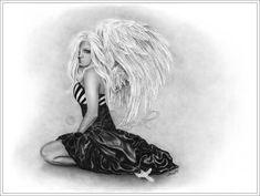 Imperfect Angel by Zindy.deviantart.com on @deviantART