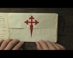 Camino de Santiago - Art Journal Video. This makes me smile :)
