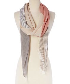 Another great find on #zulily! Khaki Scarf by Jasmine Trading Corp #zulilyfinds
