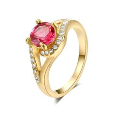 Yours Gorgeous 18K Rose Gold Plated Shinning Crystal Ruby Cocktail Ring (6) Yoursfs http://www.amazon.com/dp/B00IJT6TMW/ref=cm_sw_r_pi_dp_pqIdvb00JAE0M