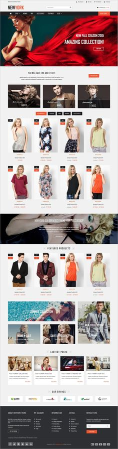 VG NewYork is a creative, modern #WordPress theme for #webdev awesome #fashion #store eCommerce website with 8 predefined home layouts download now➩ https://themeforest.net/item/vg-newyork-responsive-woocommerce-wordpress-theme/17897280?ref=Datasata