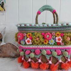 ideas for crochet car seat canopy Crochet Car, Bag Crochet, Crochet Motifs, Freeform Crochet, Crochet Handbags, Crochet Purses, Irish Crochet, Crochet Crafts, Yarn Crafts