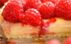 White Chocolate and Raspberry Tart Recipe by Andy Bates