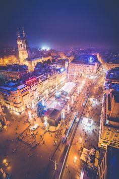 Ban Jelačić Square, Zagreb by Tomislav Safundžić on 500px