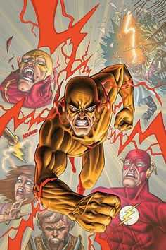 The Flash Vol. 3 #8 - Scott Kolins, Colors: Michael Atiyeh