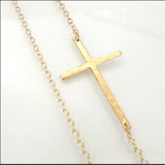 Silpada Cross Brass Necklace