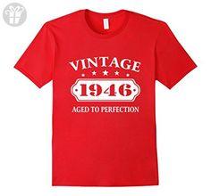 Mens 71th gift ideas Funny birthday Man Eagle T shirt Small Red - Birthday shirts (*Amazon Partner-Link)
