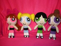 Ravelry: Project Gallery for Buttercup from the Powerpuff Girls pattern by Julia Kelly