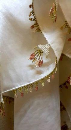 Beylerbeyi Sarayi'de. Turkish Needle Lace