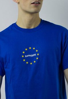 EU BANKSIDE / T-SHIRT / BLUE