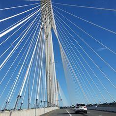 #nofilter Port Mann Bridge Vancouver British Columbia Canada. My Return Ticket   by chris franklin