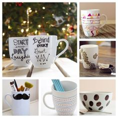 6. Mugs | 34 Things You Can Improve With A Sharpie