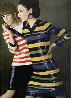 1966 - Yves Saint Laurent dresses